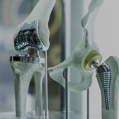 A link to a page further explaining the orthopaedic markets we serve
