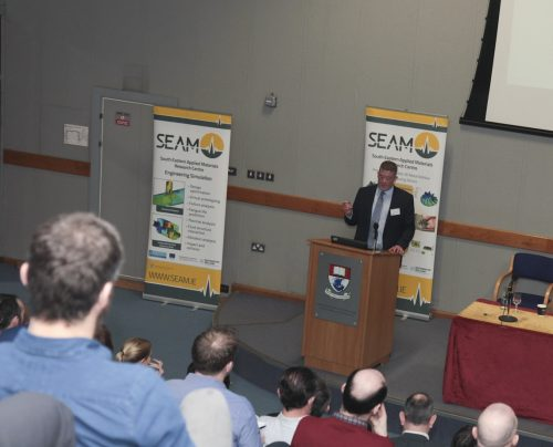 Schivo at launch of SEAM in WIT